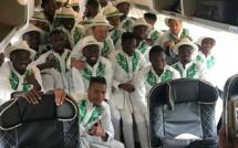 Photos - Les joueurs nigérians et leurs tenues typiquement traditionnelles en Russie