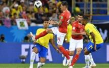 Le Brésil accroché par la Suisse (1-1)