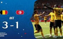 #CM2018-mi-temps : La Belgique mène désormais par 4-1 face à la Tunisie