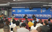 Conférence de presse d'avant-match : Aliou Cissé et Sadio Mané devant le journalistes