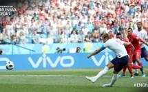 Mi-temp Angleterre-Panama : déjà 5-0