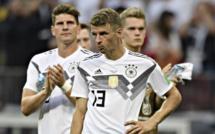Coup de tonnerre : l'Allemagne éliminée