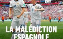 #ESPRUS :  l'Espagne éliminée