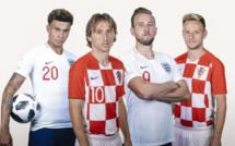 #CM2018: Angleterre-Croatie, un duel d'outsiders pour une place en finale