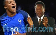 Kylian Mbappé répond à Pelé : « le Roi restera toujours le roi»