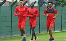 Les premières images de Sadio Mané à l'entraînement de Liverpool avec Salah