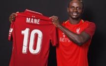 Officiel ! Sadio Mané hérite du numéro 10 de Liverpool