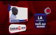 Pape Alé Niang demande à Hadjibou Soumaré de sortir ses crocs