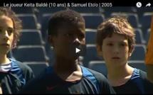 Vidéo - Keita Baldé n'avait que 10 ans quand Eto'o lui apprennait comment se comporter devant les buts