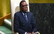 Hage Geingob, président de Namibie: «Je n'ai jamais aidé, ni été payé par Areva»