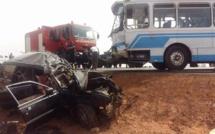Drame sur la route de Fatick : un carambolage fait 4 morts et plus de 10 blessés graves