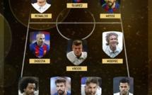 Les 55 joueurs retenus pour le onze FIFA de l'année 2018