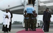 La dépouille de KoffI Annan est arrivée au Ghana
