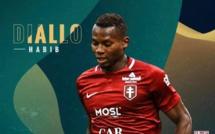 Ligue 2: Habib Diallo élu meilleur joueur du mois d'août