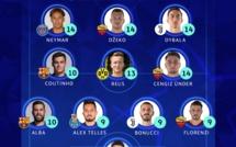 2éme journée - LDC : l'UEFA dévoile son équipe type