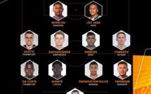 Officiel ! L'UEFA dévoile l'équipe type de cette semaine d'Europa League.
