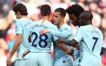 Chelsea prend provisoirement la tête de la #PremierLeague