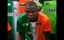 Le défenseur central centrafricain Gery YAKITE décédé après sa blessure lors d'un match