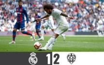 Le Real Madrid chute à domicile (1-2) devant Levante et plonge dans la crise