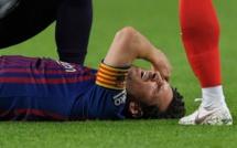 #BARSEV : Lionel Messi sort sur blessure à la 25e