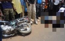 Louga : Un mort et deux blessés dans un choc frontal entre deux motos