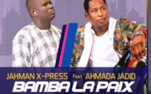 """Vidéo -""""Bamba la paix"""" : Jahman x-press et le fils de Serigne Modou Kara s'offrent un duo"""
