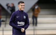 #BARREA : Coutinho ouvre le score pour le Barça (1-0)