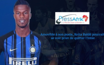 Amovible à son poste, Keita Baldé pourrait se voir prier de quitter l'Inter