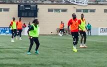 Malabo : Quand Aliou Cissé participe à une opposition durant l'entraînement des Lions