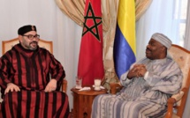 Maroc: hospitalisé à Rabat, Ali Bongo reçoit la visite du roi Mohammed VI