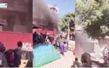 Vidéo - Un violent incendie surprend les populations de Ouagouniayes