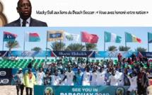 Macky Sall aux lions du Beach Soccer : « Vous avez honoré votre nation »