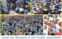 """Marche FRN: Karim Wade remercie ses partisans pour """"la forte mobilisation"""" de ce vendredi"""