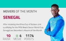 Beach Soccer : le Sénégal classé 10e nation au monde et...