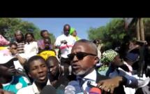 Vidéo - Elimane Racine Sy dénonce le parti-pris de la police pour les avocats de l'Etat