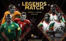 Suivez en DIRECT le match de Gala des Légendes du Football africain