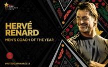 Hervé Renard meilleur sélectionneur africain de l'année 2018