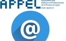 Presse en ligne : Appel refuse la «stigmatisation» mais reconnait des «dérives»