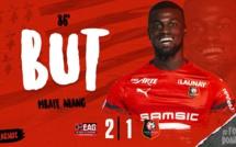 Vidéo - Le superbe but de Mbaye Niang avec Rennes