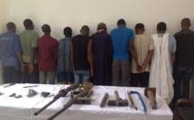 Vague d'arrestation : deux gangs qui écumaient le centre-ville, Hann Maristes, Mbour et Thiès, arrêtés
