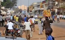 Centrafrique: un rond-point central de Bangui bloqué par d'ex-militaires