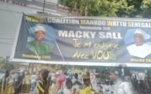 Vidéo - L'arrivée de Macky à Mbacké