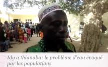Vidéo - Les populations Thiénaba évoquent leurs problèmes d'accès à l'eau devant Idy