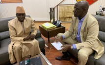Présidentielle 2019: Aly Ngouille Ndiaye a reçu Me Mame Adama Gueye ce mardi