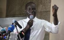 Malick Gackou à l'Aéroport international Blaise Diagne pour accueillir Wade