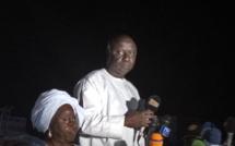 """Idrissa à Kaffrine: """"je suis convaincu que le Sénégal prendra un autre tournant le soir du 24 février"""""""