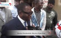 """Vidéo - Pape Diop déplore la qualité """"néfaste"""" de l'encre indélébile utilisée dans les bureaux de vote"""