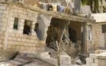 Kaolack : Une mosquée s'effondre et endommage une maison