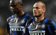 Foot-Inter-Eto'o vs Sneijder : La grosse dispute autour du leadership