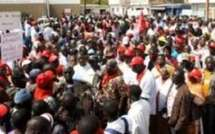 En visite dans les chantiers de la banlieue, Ousmane Ngom et Oumar Sarr voient du rouge